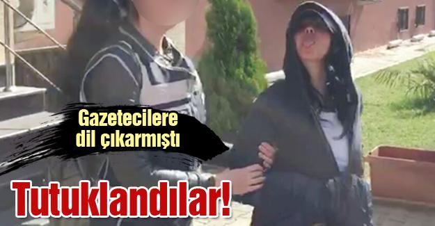 Gazetecilere dil çıkarmıştı! Tutuklandılar