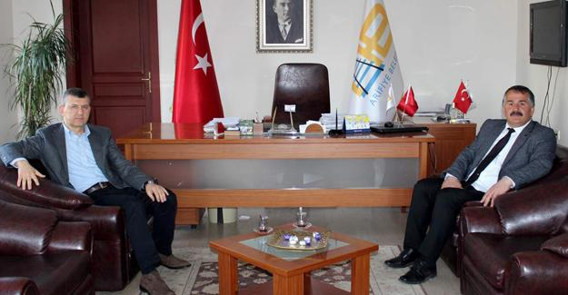 Otokar'dan Başkan Karakullukçu'ya ziyaret