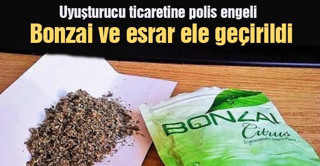 Uyuşturucu ticaretine polis engeli