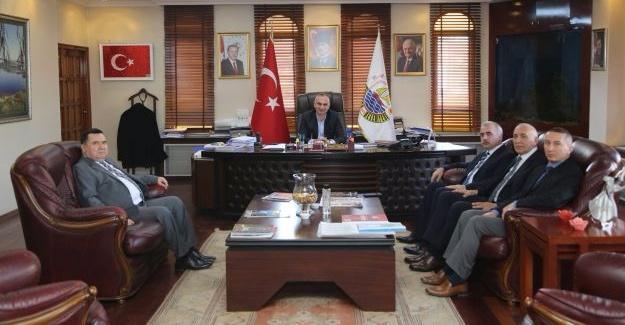 Vergi Dairesi Başkanı Çelik'den Yılmazer'e Ziyaret