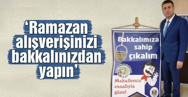 Akdardağan'dan Ramazan alışverişi çağrısı