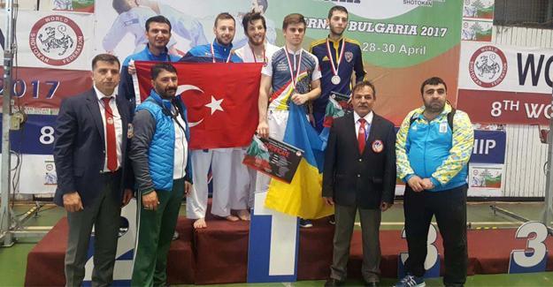 Bulgaristan'dan 5 madalya ile dönüyorlar