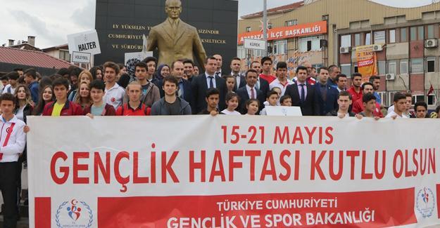 Gençlik Haftası etkinliklerine start verildi