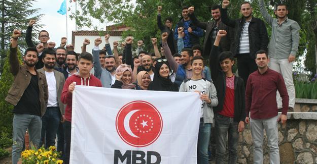 MBD'den Ertuğrul Gazi'ye saygı nöbeti