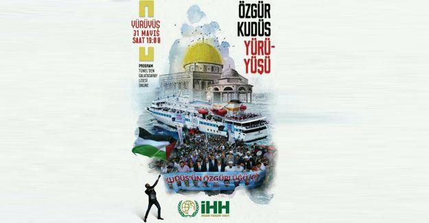Özgür Kudüs Yürüyüşü yapılacak