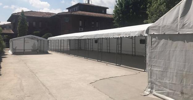 Sapanca Belediyesi iftar çadırı Ramazan'a hazır