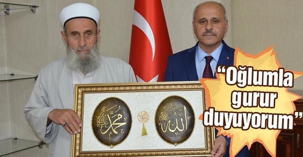 Şehit Babası Safitürk'ten Vali Peynircioğlu'na ziyaret