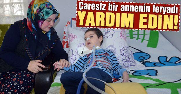 SMA hastası Ömer Asaf yardım bekliyor