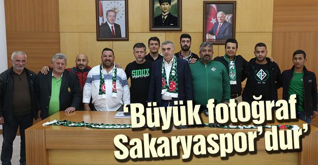 Tatangalar'dan Başkan Toçoğlu'na ziyaret