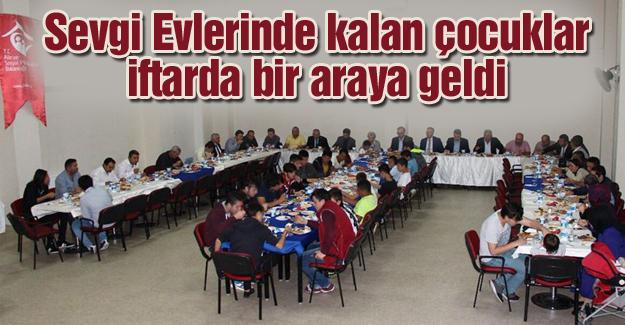 ASPM İl Müdürlüğü çocuklarla iftar yaptı
