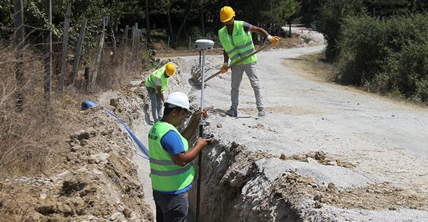 Kaynarca'da 41 mahalle için son 11 kilometre