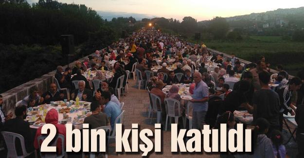 Maltepe Mahallesi'nin geleneksel iftarı yapıldı