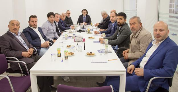 Meslek komitelerinden istişare toplantısı