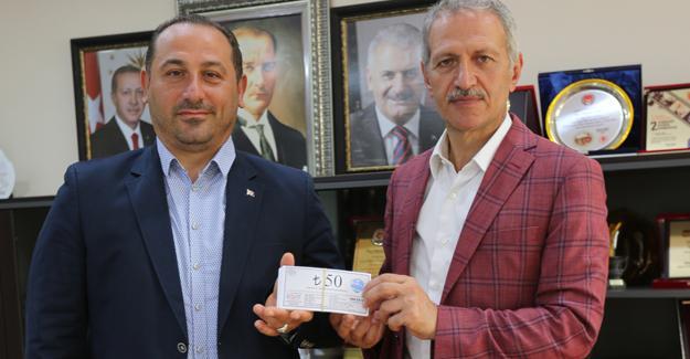 Müteahhitler Birliği'nden Dişli'ye ziyaret