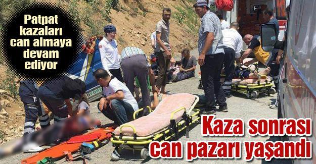 Patpat kazaları can almaya devam ediyor