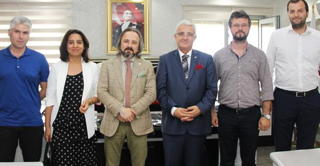 Barodan Başsavcı Lütfi Dursun'a hayırlı olsun ziyareti
