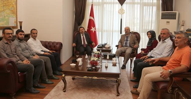 İYC'den Vali Balkanlıoğlu'na ziyaret