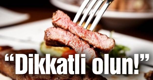 Öğütlü'den et tüketimi uyarısı