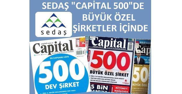 SEDAŞ, Capital500 içinde yer aldı