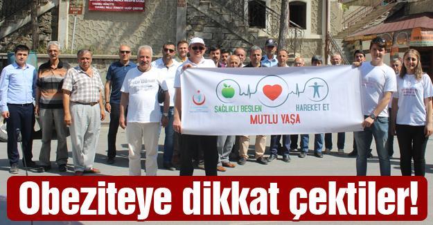 Taraklı'da sağlık için yürüdüler