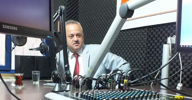 Doç. Dr. Aziz Öğütlü radyo programının konuğu oldu
