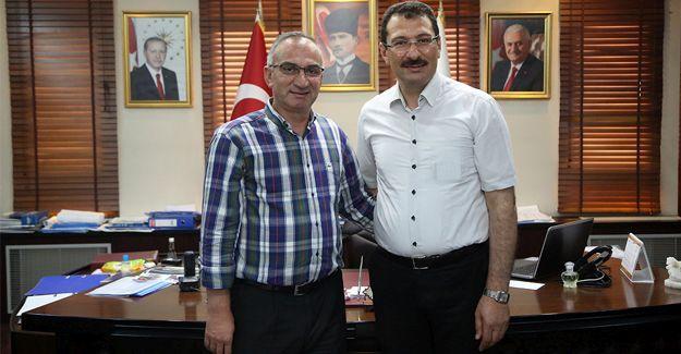 Milletvekili Yavuz'dan Başkan Yılmazer'e ziyaret