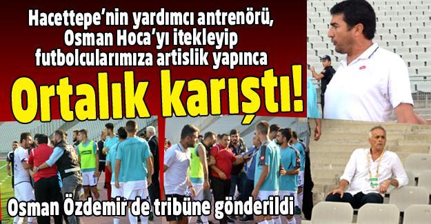 Osman Özdemir'i iteklediler!
