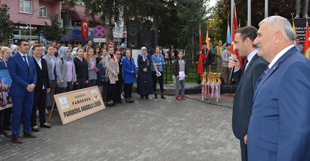 29 Ekim Pamukova'da törenlerle kutlandı