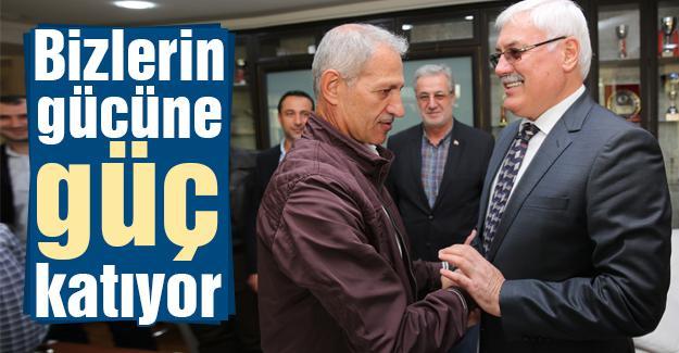 AK Adapazarı'nda seçim sonrası ilk ziyaret
