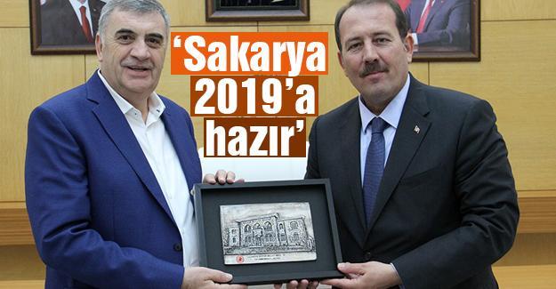 Genel Başkan Karacan, Toçoğlu'nu ziyaret etti