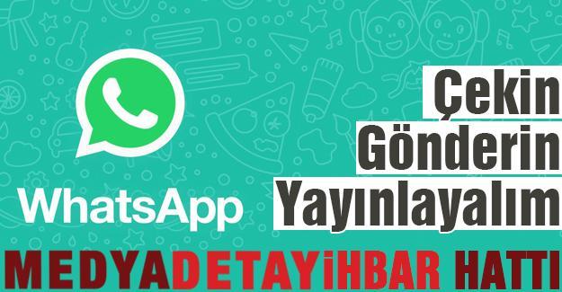 Medya Detay Whatsapp hattı hizmete girdi