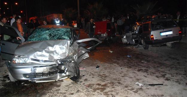 TEM gişelerde kaza: 5 yaralı