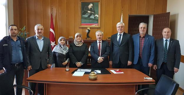 AK Parti Adapazarı'ndan TÜVASAŞ'a ziyaret