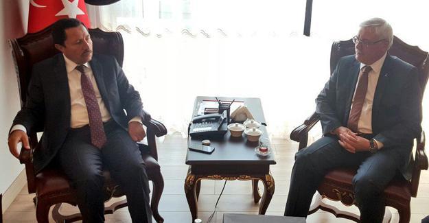 AK Parti'den Vali Balkanlıoğlu'na ziyaret