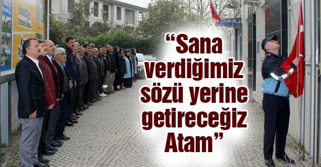 Arifiye Belediyesi'nde 10 Kasım anma töreni