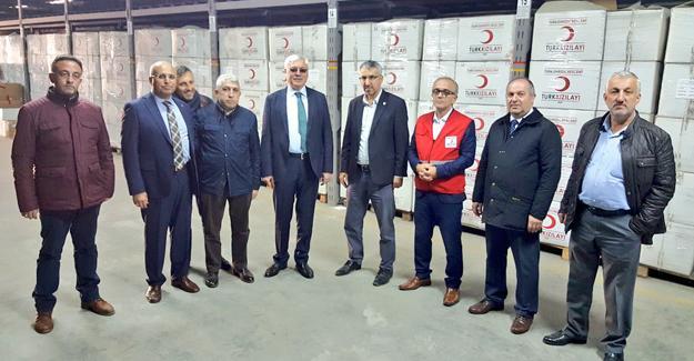 Başkan Ak'tan Kızılay'a ziyaret