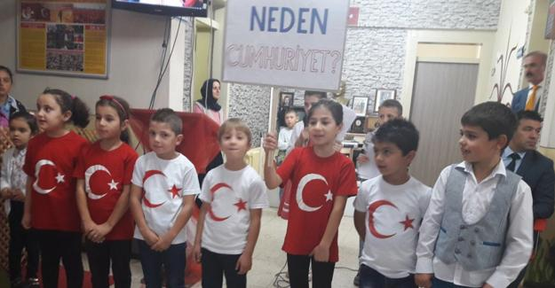 Budaklar İlkokulu'nda üç etkinlik bir arada