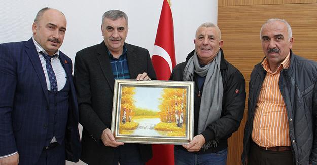 Bulgaristan heyeti Toçoğlu'nu ziyaret etti