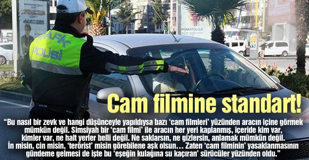Cam filmine standart!…