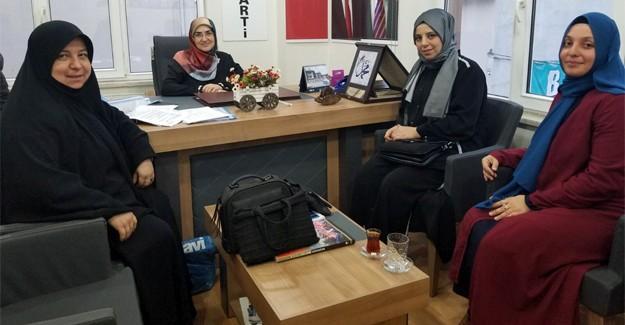 EBS'li kadınlardan Arakan yararına etkinlik