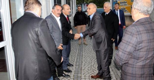 Emniyet Müdürü Kaya'dan Başkan Karakullukçu'ya ziyaret