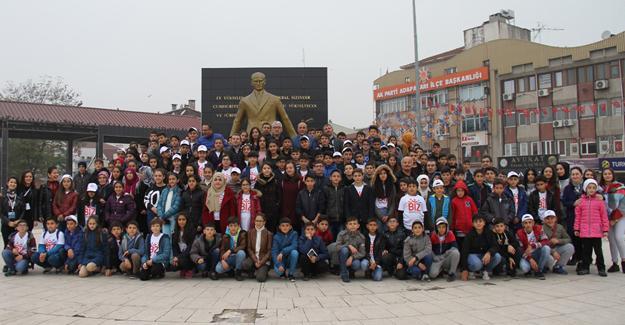 Erzincanlı öğrencilerden Sakarya'ya teşekkür