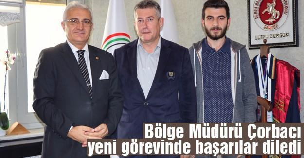 İHA'dan Cumhuriyet Başsavcı Dursun'a ziyaret