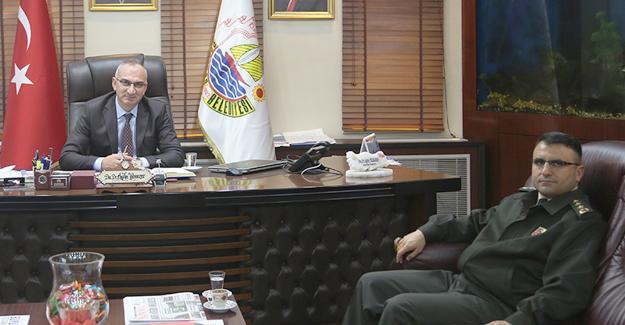 İl Jandarma Alay Komutanından Sapanca'ya ziyaret