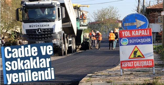 Kocaali'de 25 bin ton asfalt