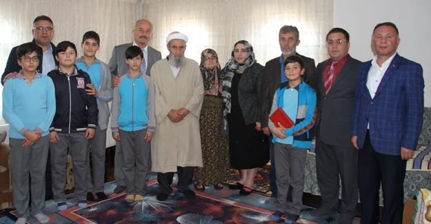 Şehit Kaymakam Safitürk'ün ailesine ziyaret