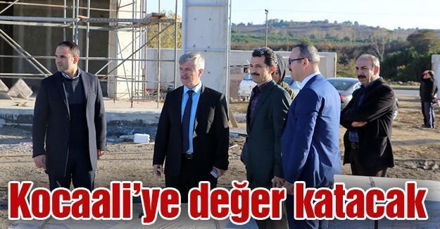 Sosyal tesis inşaatı devam ediyor