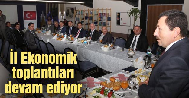 Vali Balkanlıoğlu STK ve iş dünyası üyeleri ile bir araya geldi