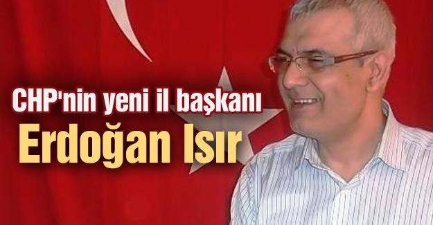 CHP'nin yeni il başkanı Erdoğan Isır