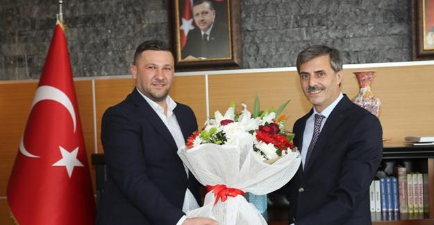 İlçe Başkanı Burak Erken'den Alemdar'a ziyaret